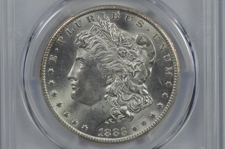 $1.00 Silver 1883-CC PCGS MS65
