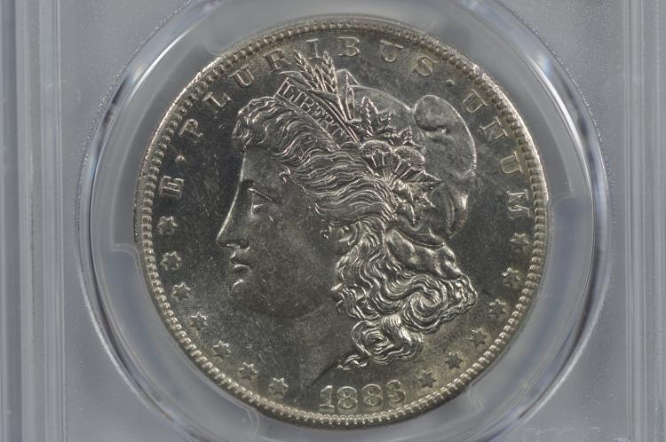 $1.00 Silver 1883-S PCGS AU58