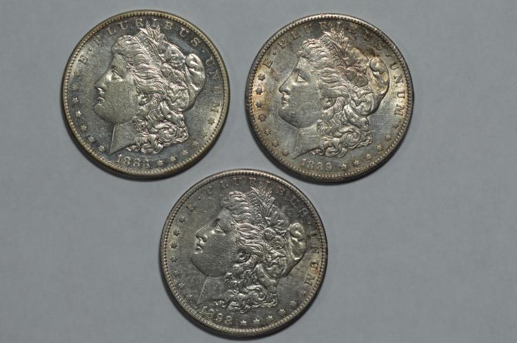 A better date AU San Francisco Morgan Dollar threesome