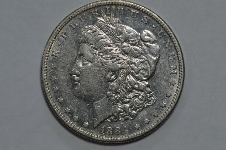 $1.00 Silver 1884-S
