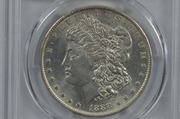$1.00 Silver 1888-O VAM-9
