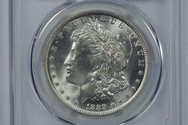 $1.00 Silver 1889-O PCGS MS64+