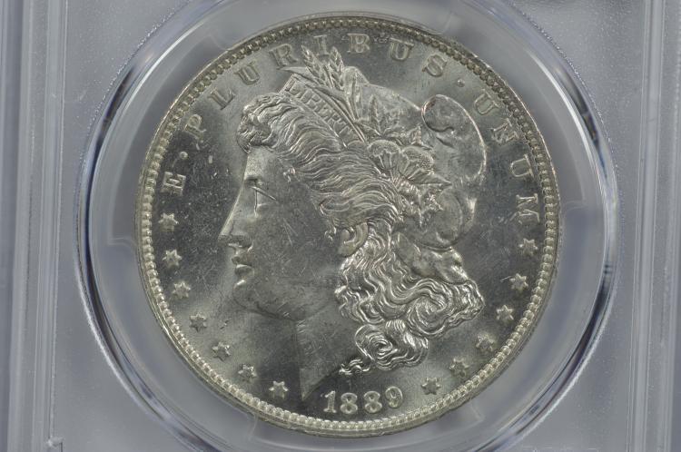 $1.00 Silver 1889-O PCGS MS63