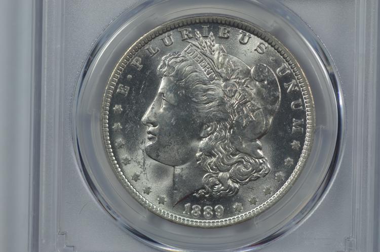 $1.00 Silver 1889-O PCGS MS62