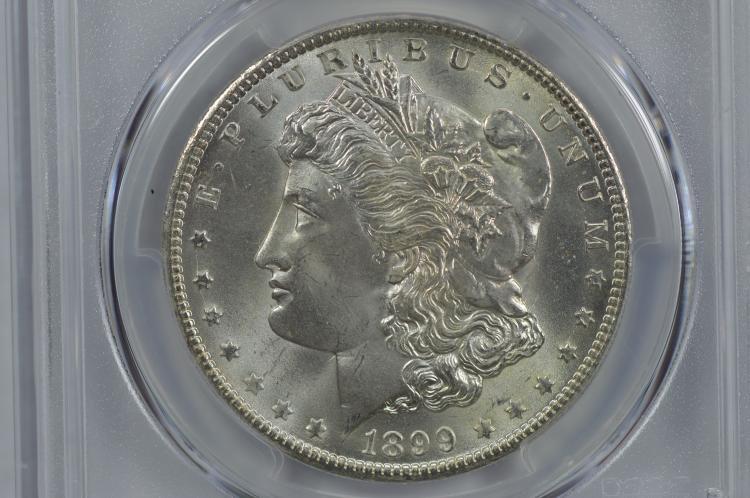 $1.00 Silver 1899-O PCGS MS66