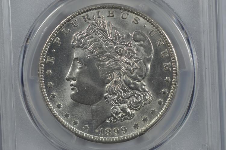$1.00 Silver 1899-O PCGS MS65