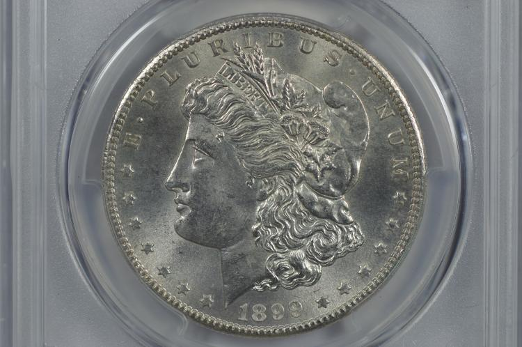 $1.00 Silver 1899-S PCGS MS62