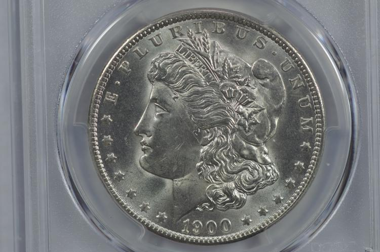 $1.00 Silver 1900-O PCGS MS65