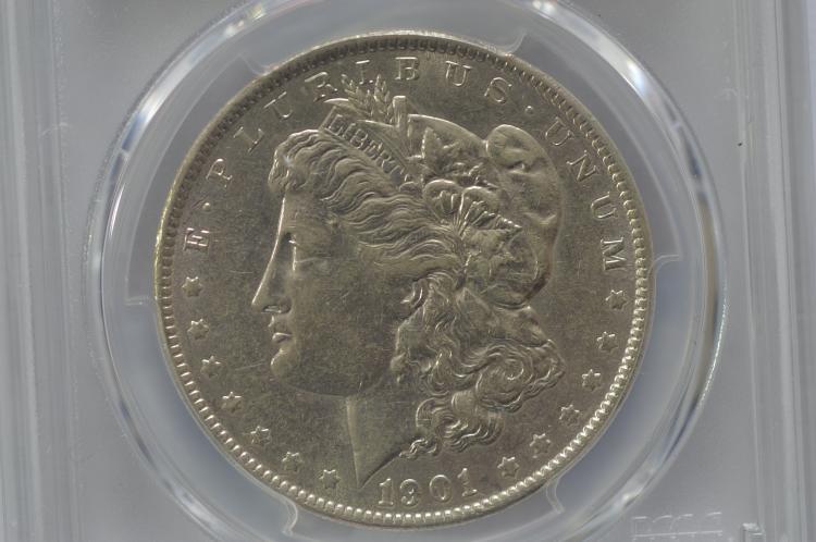 $1.00 1901 PCGS XF45