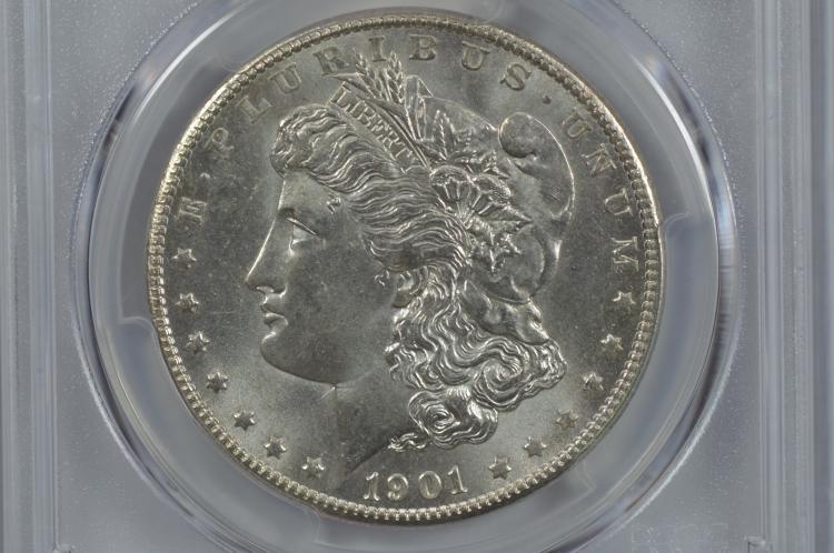 $1.00 Silver 1901-O PCGS MS65