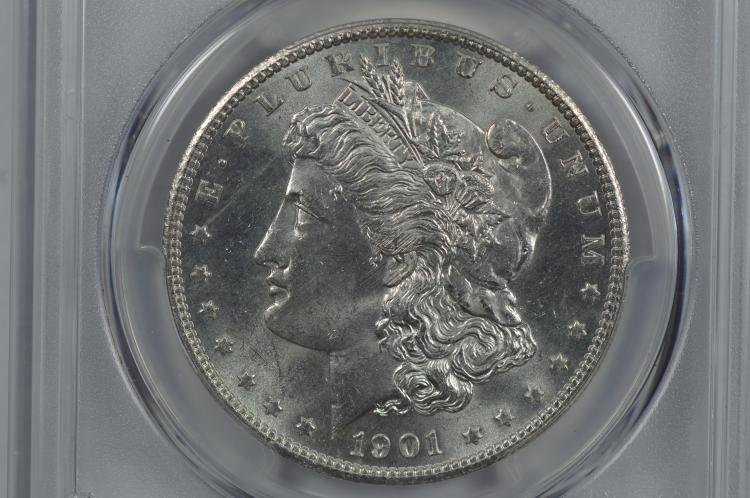 $1.00 Silver 1901-S PCGS MS64