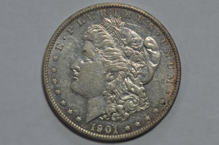 $1.00 Silver 1901-S AU