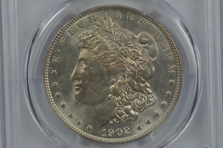 $1.00 Silver 1902 PCGS MS65