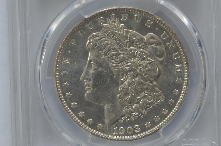 $1.00 Silver 1903-O PCGS MS62