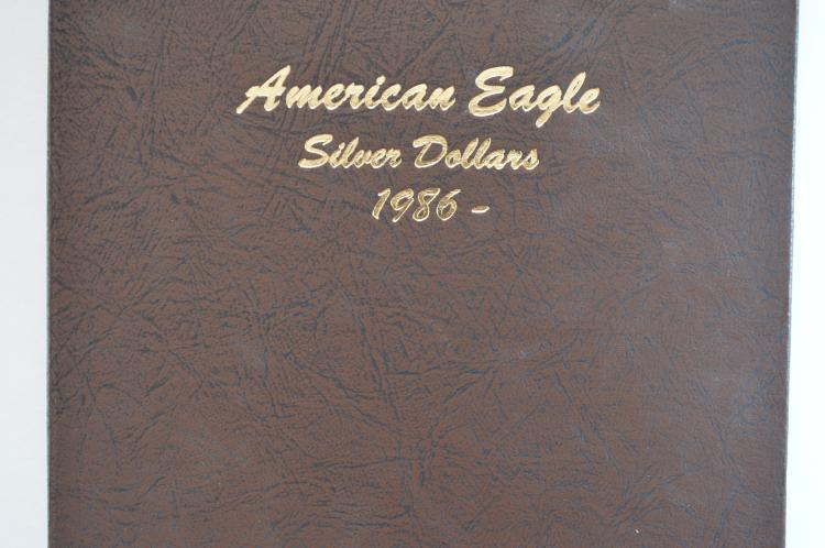 A second complete set of Uncirculated Silver Eagles (1986-2016)