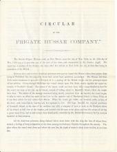 1866 Treasure Recovery Prospectus of Frigate Hussar Company. 9