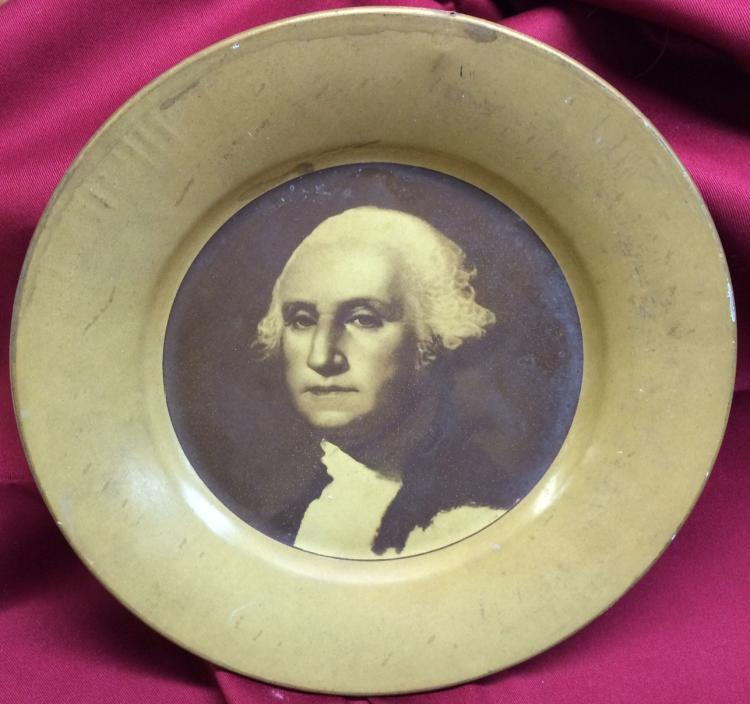George Washington Birth Centennial Portrait Plate