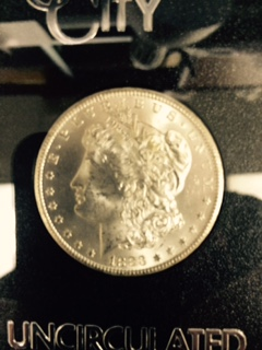 $1.00 Silver 1883-CC GSA.