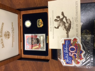 1997 Commemorative Jackie Robinson 3-piece