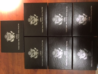 U.S. Premier Silver Proof Sets