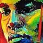 Simon Bull, an oil painting on canvas,