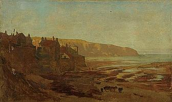 Henry Wilkinson Daniel, an oil painting on canvas,