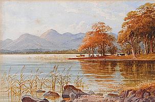 Joshua Renshaw (1813-1872), a watercolour,