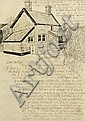 Percy Kelly (1918-1993), a pen and ink drawing and, Percy  Kelly, Click for value