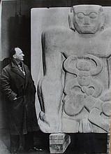 Sir Jacob EPSTEIN [1880-1959] - [photograph]