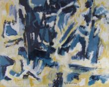 Boyer Gonzales Abstract Oil Painting