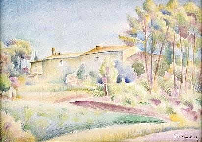 Artwork by  Pierre De Vaucleroy (1892-1980).