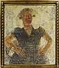 Alfons Blomme (1889-1979). La Zélandaise (daté, Alfons (1889) Blomme, Click for value