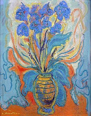 Léopold Plomteux (1920-2008). Dimensions: 0m60 x