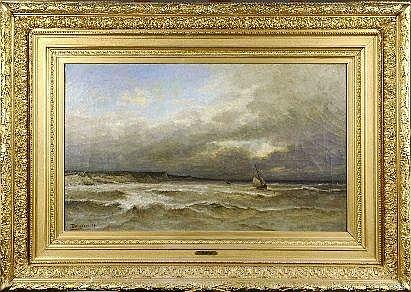Arthur Bouvier (1837-1921). Dimensions: 0m60 x
