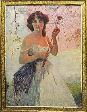 Edmond Doumont (1879-1954). Dimensions: 1m00 x