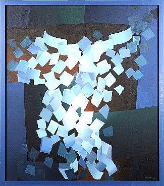Raymond Art (1919 - 1998). Dimensions: 0m80 x 0m70