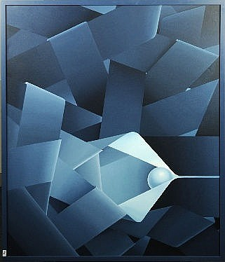 Raymond Art (1919 - 1998). Dimensions: 1m00 x 1m20