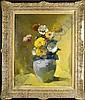 Isidore Opsomer (1878-1967). Vase garni de Fleurs, Isidore Opsomer, Click for value