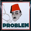 Problème - Cigarettes, Allemagne. Circa 1920. Illustration de Hans Rudi Erd, Hans Rudi Erdt, Click for value