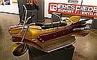 Lenaerts - Belgique. Circa 1950   Splendide moto de manège. Rare modèle.