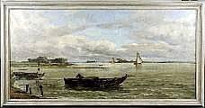 Théodore Baron (1840-1899). Dimensions: 0m95 x