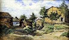 Joseph Coosemans (1828-1904). Dimensions: 0m20 x