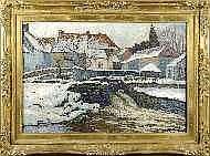 Henri Deglume (1865-1940). Dimensions: 0m50 x 0m70