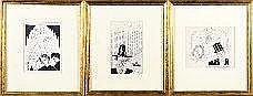 Armand Simon (1906-1981). Dimensions: 0m19 x 0m14