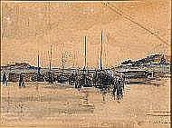 Jules Berchmans (1883-1951). Dimensions: 0m43 x