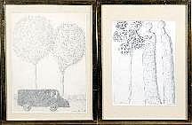 Armand Simon (1906-1981). Dimensions: 0m33 x 0m25