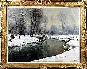 Louis Clesse (1889-1961). Dimensions: 1m00 x 1m30