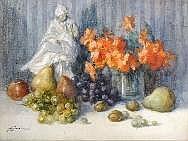 Jules Lentrein (1875-1943). Dimensions: 0m45 x