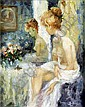 Marguerite Aers (1918-1995). Le deshabille. Huile, Marguerite Aers, Click for value