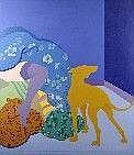 Eduardo Urculo Fernandez (1938-2003). Dimensions: